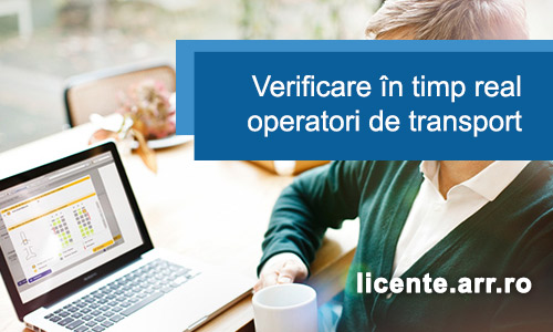 Verificare Operatori de transport