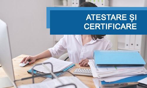 Atestare și certificare